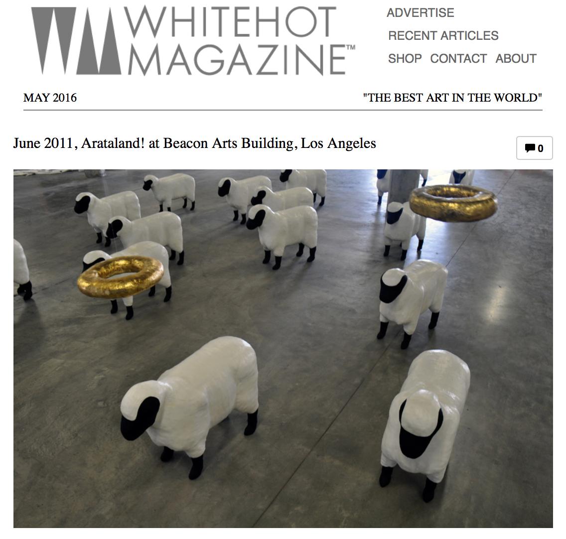 WhiteHotMagazine Article, 2011
