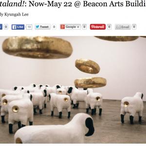 Arataland! Now-May 22 at  Beacon Arts Building